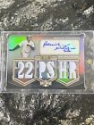 2010 Topps Triple Threads Bernie Williams Auto Patch 1 Of 1. Only Card Ever!