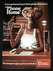 ET Vintage Coors Beer Poster 1982 Mint Condition Still In Box