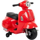Vespa Scooter for Kids Ages 15 3 Motorcycle Electric Powered Moped