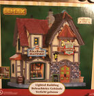 Lemax Village Collection 2011 HELGA'S BEER & SAUSAGE SHOP #15270 New In Box.