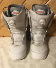 Thirty Two Womens White Classic Snowboard Boots Size 10 STW BOA LEVEL 1 Liner