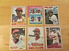 JIM RICE 1975 Topps Rookie RC & 1976 1977 1978 1979 1985 Topps Lot
