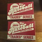 "1989 Topps ""Traded"" Series COMPLETE SET includes KEN GRIFFEY JR. Factory Set"