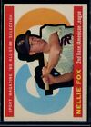 Nellie Fox Cards and Autographed Memorabilia Guide 12