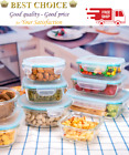 Glass Food Storage Containers with Lids 18 Piece Glass Meal Prep Containers