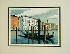 Venice Italy signed numbered 11 x 14 watercolor print landscape