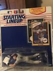 1990 Los Angles Dodgers Steve Sax Card Starting Lineup Figure New York Uniform