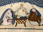 Daisy Kingdom Vintage Snowman Children Making Their Own Nativity Scene 5+ yard