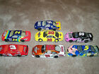 Lot Of 7 asstorted 1 24th NASCAR diecast  pre owned