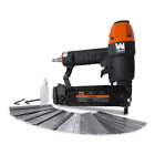 18 Gauge 3 8 in to 2 in Pneumatic Brad Nailer with 2000 Nails