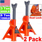 3T 6T Heavy Duty Jack Stands With Dual Locking For Car Truck Tire Change Lift