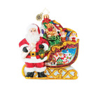 Christopher Radko Home Is Where The Sled Is Ornament 3067