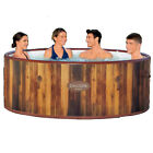 Bestway SaluSpa Helsinki AirJet 67 Inch Round Inflatable Hot Tub Spa Open Box