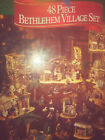 Members Mark 48 Piece Bethlehem Village Set Nativity Jesus Christmas Display Set
