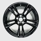 NEW 20 GLOSS BLACK Front Wheel For BMW 5 Series 7 Series OEM Quality Rim 71379