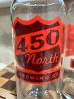 450 Brewing Glass Can Style Rolled Lip Tall Boy New Official Merch Red Sign Logo