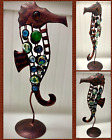 Industrial Metal And Glass Seahorse Steampunk Art Detailed Sculpture Ships Free