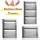 Outdoor Kitchen Drawers Double Single Triple Stainless Steel Multi size