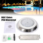 54W Stainless Steel RGB LED Swimming Pool Light Underwater Waterproof Lamp 12V