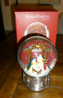 REED  BARTON NEW Large Christmas Nativity Musical Snowglobe Snow Globe
