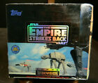 Vintage Topps Star Wars The Empire Strikes Back Widevision Cards Sealed Box 24ct