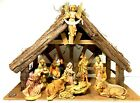 Fontanini Heirloom Nativity From Roman Inc 5 Set with Stable 11 Figures