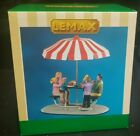 lemax lunch at the park village accessory 2020  table accent new carnival picnic