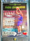 Vince Carter Cards and Autographed Memorabilia Guide 21