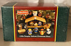 Fisher Price Little People Deluxe Nativity Play Set Christmas Story 2002 W Box