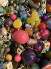 Large Lot Of Beads And Findings Plastic Glass Seed Beads Soup Mixed 4 Pounds
