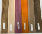 6 PACK COMBO 6 Species Cutting Boards Thin Dimensional Lumber 3 4 X 2 X 16