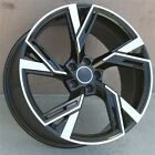 SET4 20 20X90 5X112 WHEELS FIT AUDI A4 S4 A5 A6 A7 Q5 RS4 RS6 Q3 NEW RS STYL