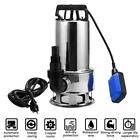 15HP Submersible Water Pump Stainless Steel 16000L H Trash Clean Water