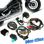 50cc 125cc CDI Wiring Harness Loom Solenoid Coil Rectifier PIT Quad Dirt Bike S