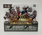 2015 Panini Contenders Football Hobby Box - 5 Autographs Per Box FACTORY SEALED!