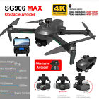 SG906 Pro MAX 4k Automatic Obstacle Avoidance 3 Axis Gimbal 5G WiFi GPS Drone UK