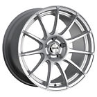 4 Maxxim 10S Winner 14x6 4x100 4x45 +38mm Silver Wheels Rims 14 Inch