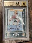 2005 Playoff Contenders Aaron Rodgers ROOKIE #101 BGS 9.5 Auto 10 PSA 10