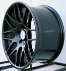 18 Black CSL Style Wheels Rims Fit BMW Z3 Z4 Ne