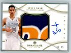 STEVE NASH 2012-13 Panini Immaculate Collection Auto Autograph Patch 32 75 Laker