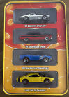 Rare Hot Wheels Since 68 Tin 2 2 Corvette Ford Falcon Mustang Charger Redlines