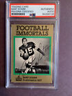 FOOTBALL IMMORTALS BART STARR #108 SIGNED AUTOGRAPH PSA AUTO