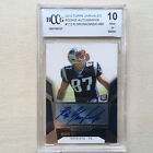 2010 Topps Unrivaled Rob Gronkowski ROOKIE RC AUTO 480; #112 BCCG 10 GEM MINT
