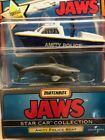 Matchbox Star Car Collection Jaws Amity Police Boat and Shark