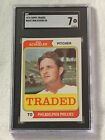 1974 Topps # 544T Ron Schueler SGC 7 NM Traded