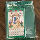 Bucilla Advent Calendar Kit Peace On Earth Nativity Christmas Manger Jewel 82017