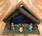 Vintage Small Nativity Set Made In Italy Fontanini