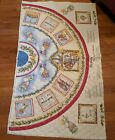 Quilted Tree Skirt Fabric 2 panels Dianna Marcum Nativity Christmas 59 x 71