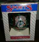 Miami Dolphins Glass Christmas Holiday Ornament Sports Collectors Series NFL