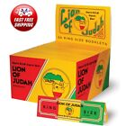 Full Box Lion of Judah King Size Rolling Papers 50 Booklet 32 Leaves Each